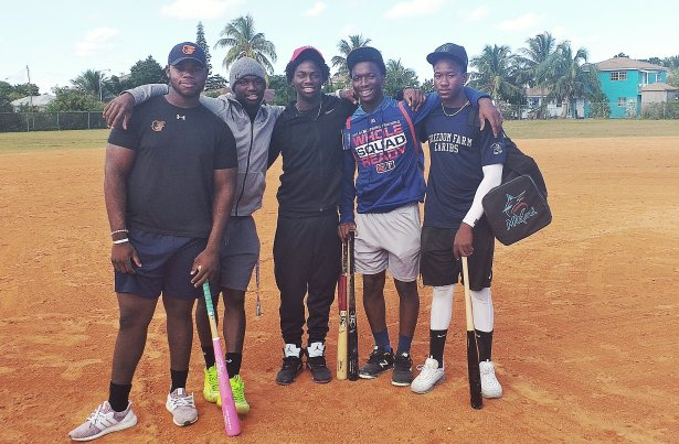 Bahamian Minor Leaguers