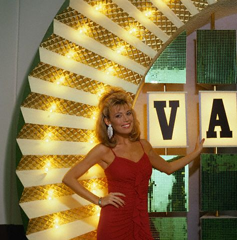 Image result for vanna white turning letters wheel of fortune