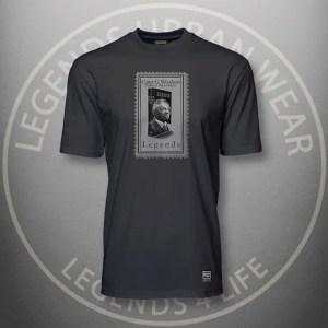 Legends Carter Woodson Black Super Tee Front