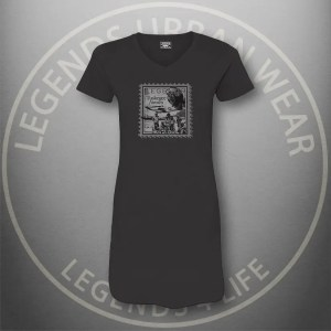 LEGENDS-Tuskegee-Airmen-Womens-Black Dress-Tee-Front