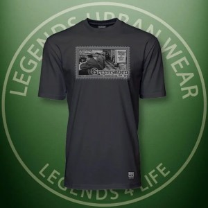 Legends Greensboro Sitin Black Super Tee Front