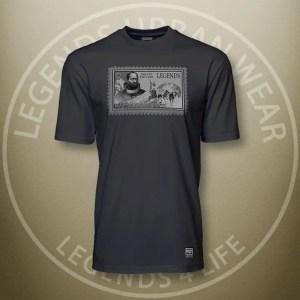 Legends Matthew Henson Black Super Tee Front