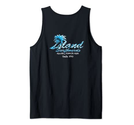 Island Surfboard Design from 1970 Tank Top