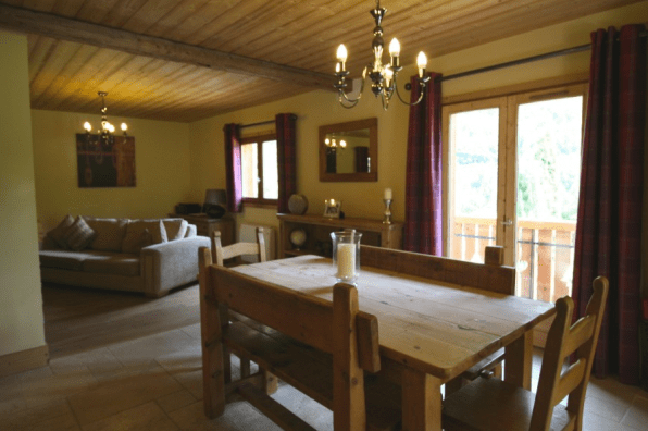 La Baume Chalet for Sale with great views. 4