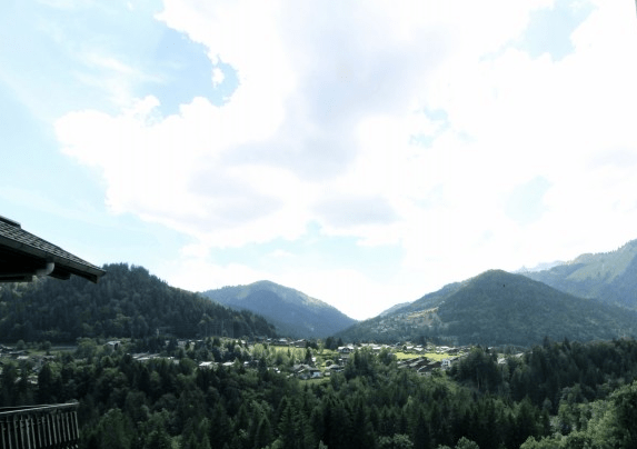 View of Morzine & Les Gets from Montriond