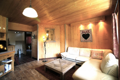 Living room in Montriond Home for Sale with Leggett