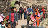 Ranthambore Fort pilgrims