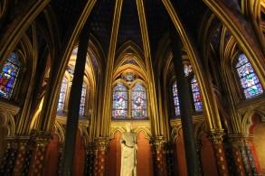 Sainte-Chapelle ground floor windows