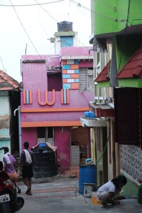 Multi-colour house