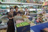 Selling sweets, Turkmenistan