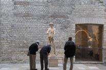 Statue of Adam, Musée Cluny