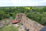 Baukas Castle, view from watch tower