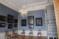 Rundāle Palace, room in blue
