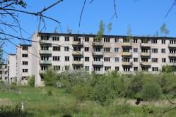 Skrunda-1, Latvia, old flats