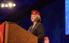 American Legion National Commander Denise H. Rohan
