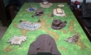 Campo de Batalha pronto
