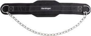 Harbinger Polypropylene Dip Belt with Steel Chain