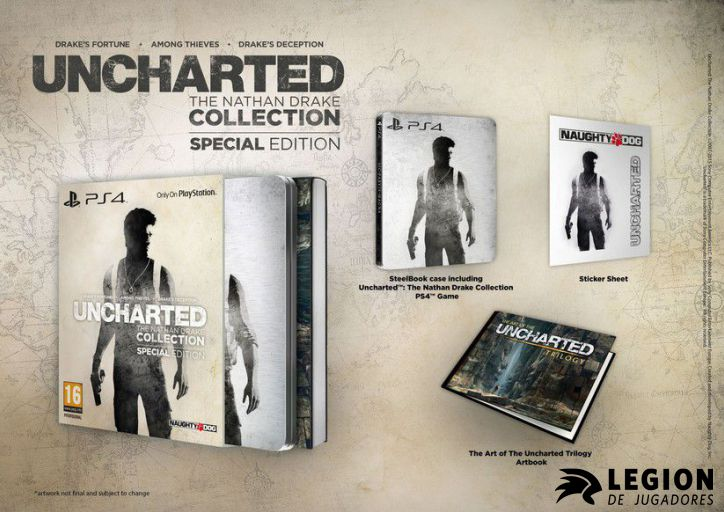 contenido-uncharted-collection