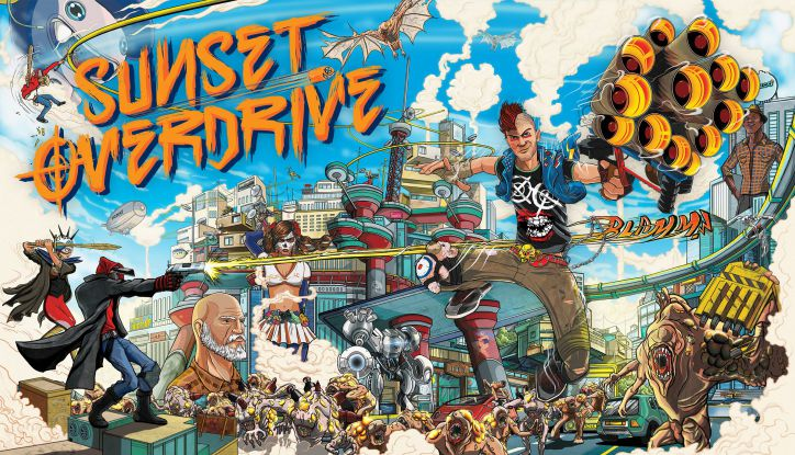 SUNSET OVERDRIVE GUIA