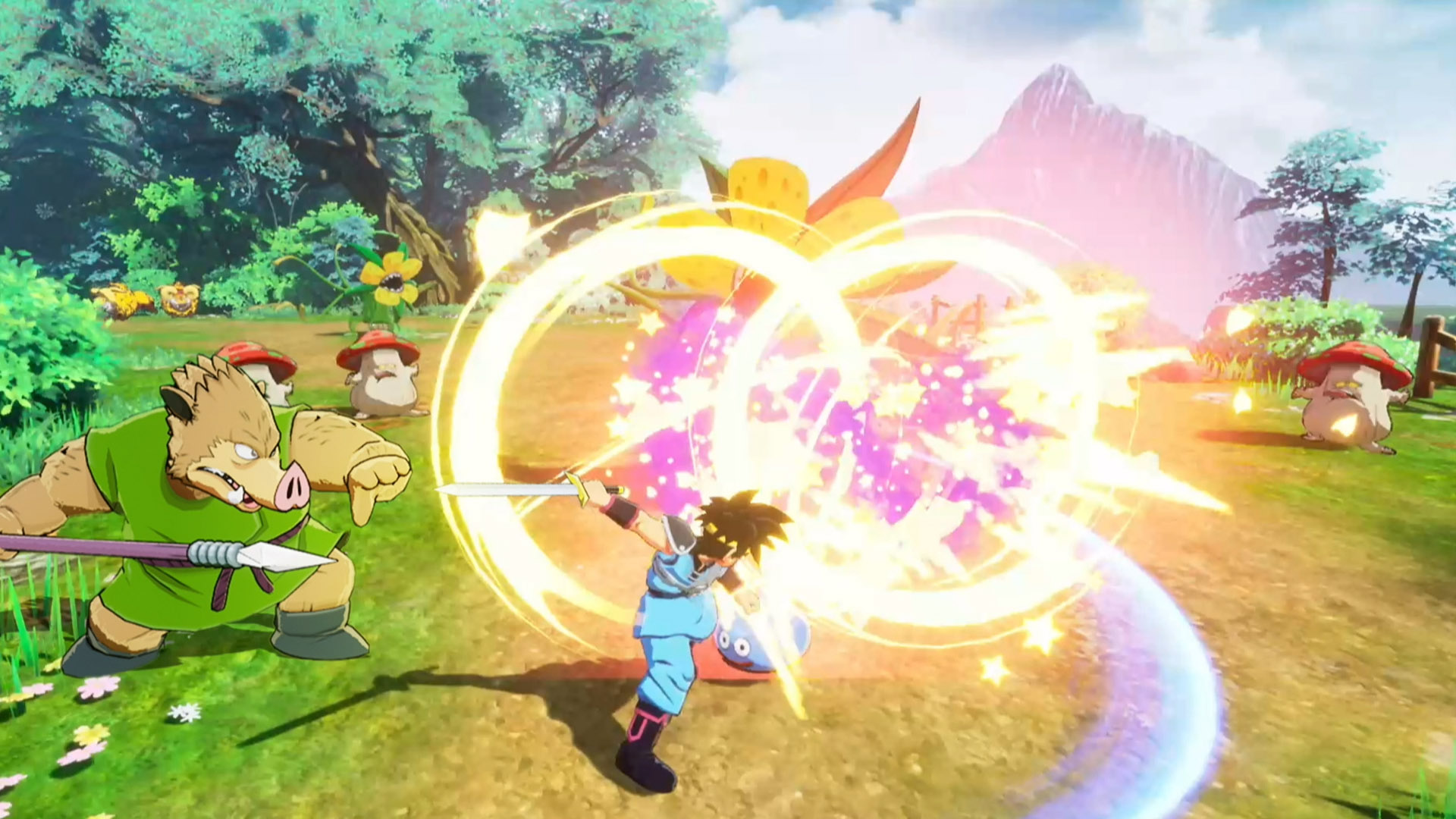 Infinity Strash Dragon Quest The Adventure of Dai trailer