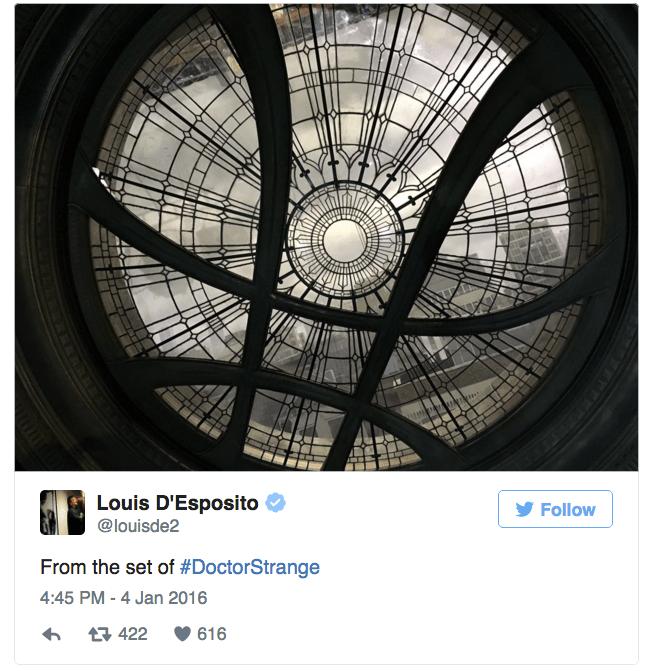 New Doctor Strange Set Pic Shows Sanctum Sanctorum