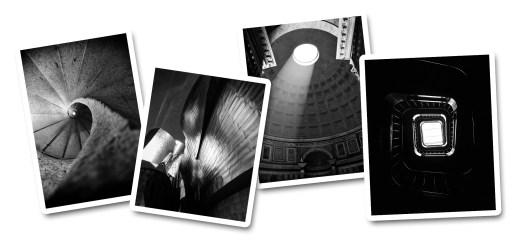 Arquitectura en blanco y negro - estudio de fotografía