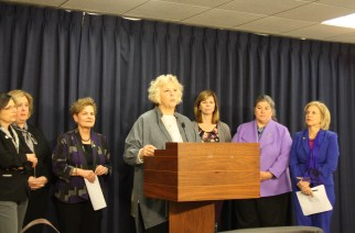 Assembly members fight for women's issues in final budget