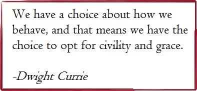 Civility is Key to a Successful Legislative Session