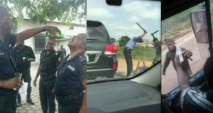 See Some Controversial Photos Nigerian Police Officers Don't Want You To See