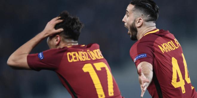 Roma dump Barcelona outta Champions League