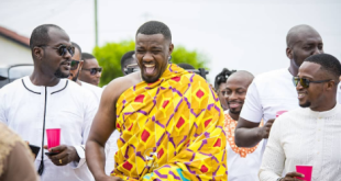 John Dumelo & his Love Mawunya's Traditional Wedding in Ghana
