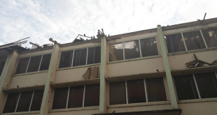 Heavy wind blows off roof of Hostel in UNN (Photos/Videos)