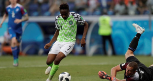 #WorldCup: Ahmed Musa Breaks This Ice To Earn Nigeria A Win