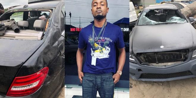 "Nigerian Singer ""Donsun"" Survive Ghastly Accident"