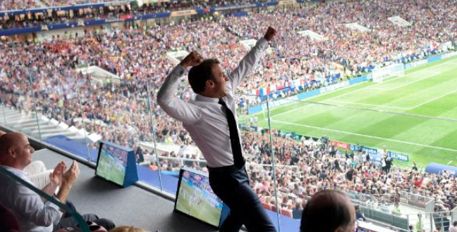 France President Surprised Everyone After He Won The World Cup (Video)