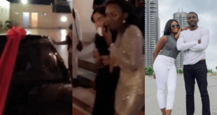 Comedian Bovi Gifts A Benz To His Wife As A Birthday Surprise (Photo/Video)