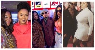Photos From The #LagosRealFakeLife Movie Premiere Held In Lagos