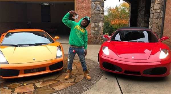 Off 1 Album, Singer Jacquees Buys $3M Mansion,Ferrari & Lambo