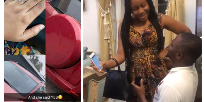 Guy Proposes To His Girlfriend with a New Car As They Celebrate Valentine