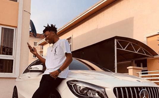 Mayorkun Buys A New 35 Million Naira Mercedes Benz