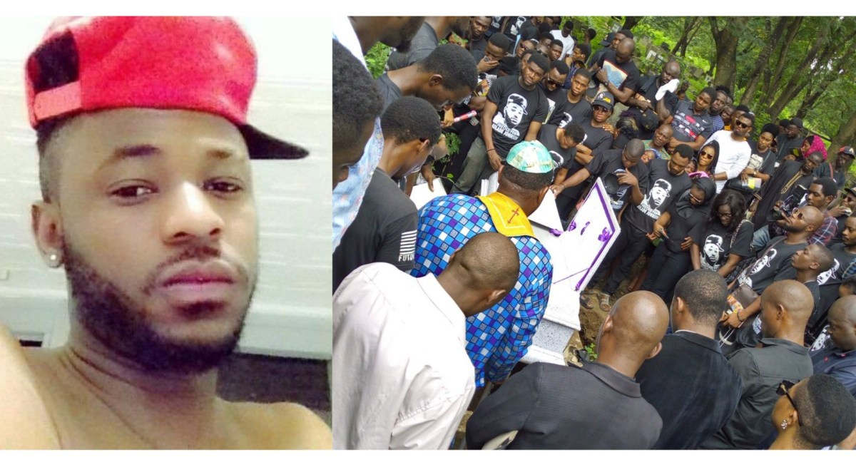 "SARS-Gunned ""KOLADE JOHNSON"" Finally Laid To Rest In Lagos (See Picture)"