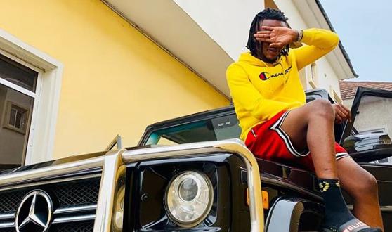 Rapper, Maxino shows off His Benz Gwagon After Billion Naira Deal (Photos)