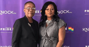 Nigerian lesbian lady, Moji Solar-Wilson, shares new photo with her wife