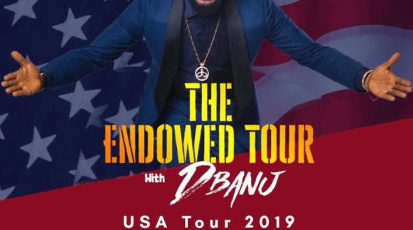 """D'banj Announces USA 2019 """"The Endowed Tour"""""""