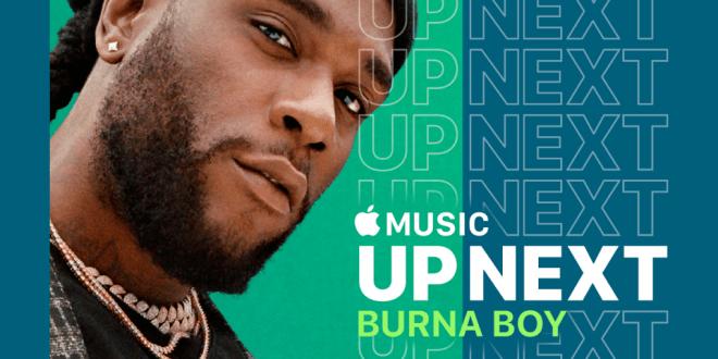 Burna Boy Announced As Apple Music Up Next Artist