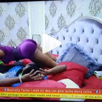 #BBNAIJA : Mercy Mercilessly Rock Ike on Bed (VIDEO)