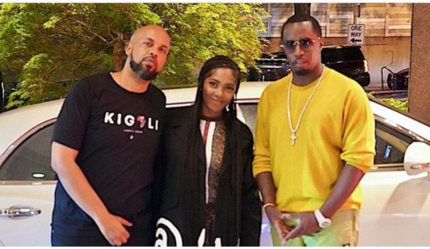 Tiwa Savage Spotted With Diddy in Atalanta (Pictures & Video)