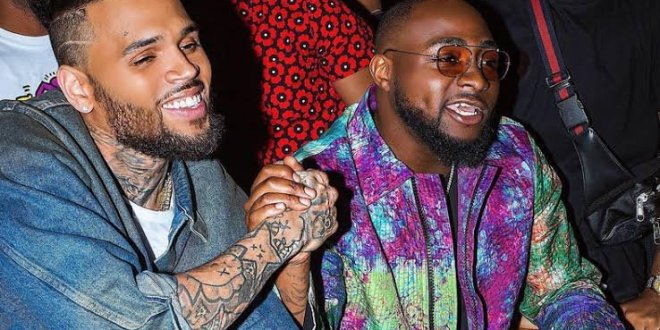 """Davido and Chris Brown's New Song """"Lower Body"""" hits No.3 US iTunes Chart"""