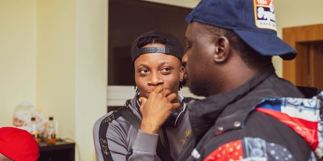DJ Spinall Set to Collaborate With Oxlade and Wande Coal (PHOTOS)