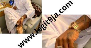 DMW Boss, Davido Flaunts his 30BG gold ring (SEE PHOTOS)